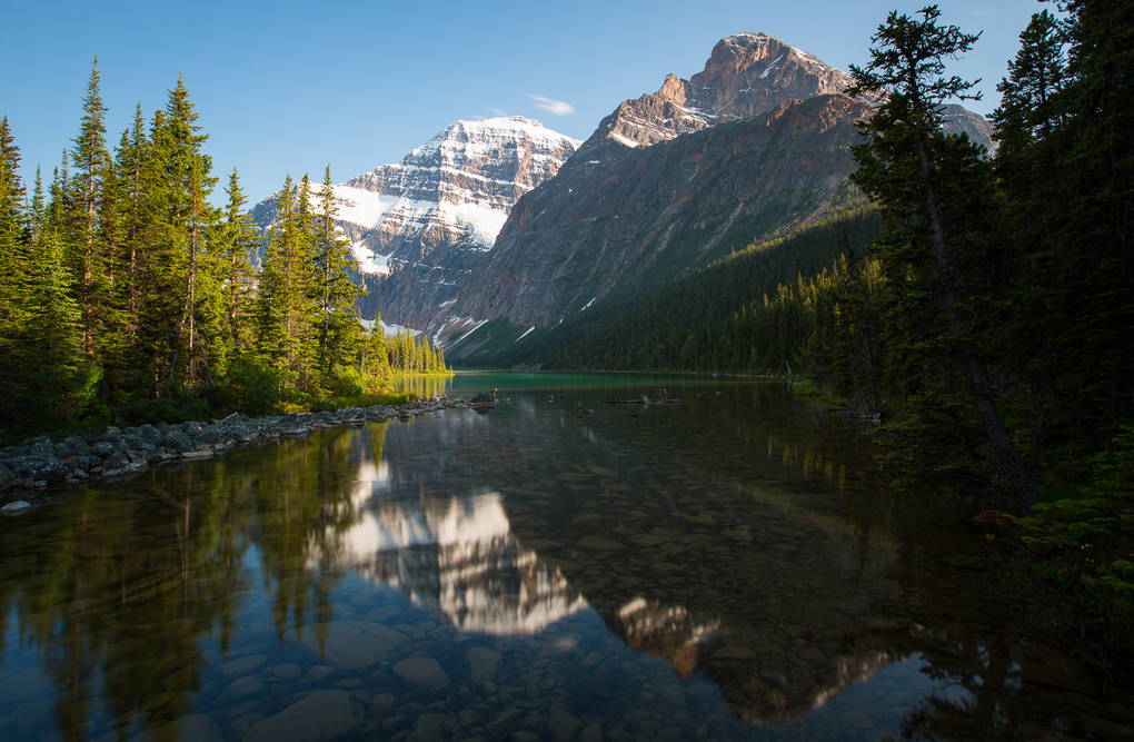 Mt Edith Reflection by Johny Goerend