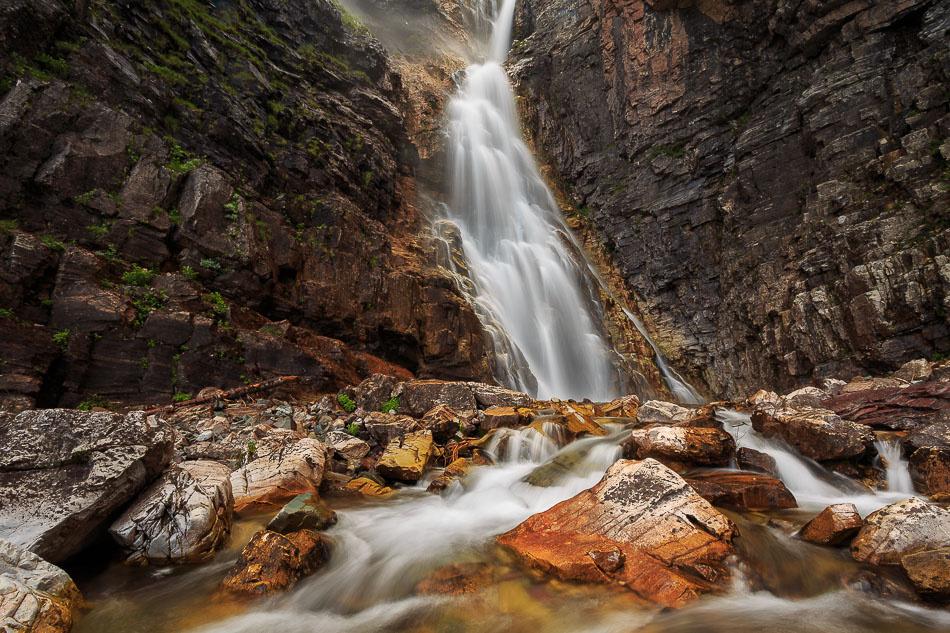 Apikuni Falls by Brian Downs