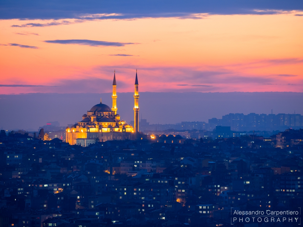 The Mosque, The City. by Alessandro Carpentiero