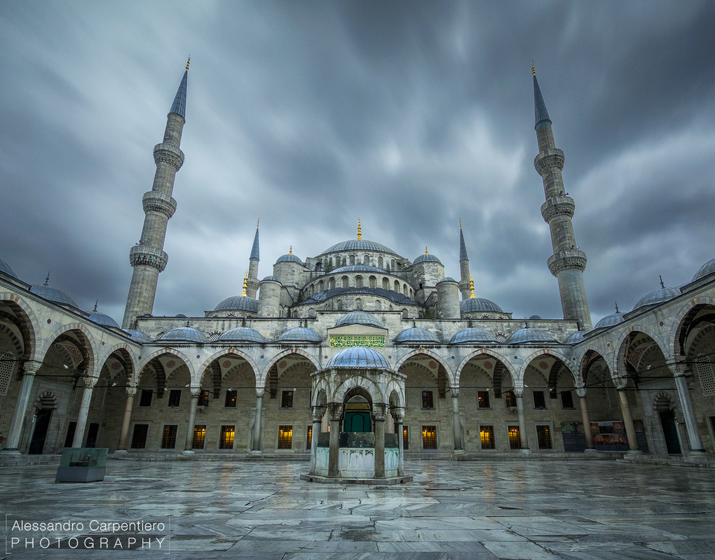 The Blue Mosque by Alessandro Carpentiero