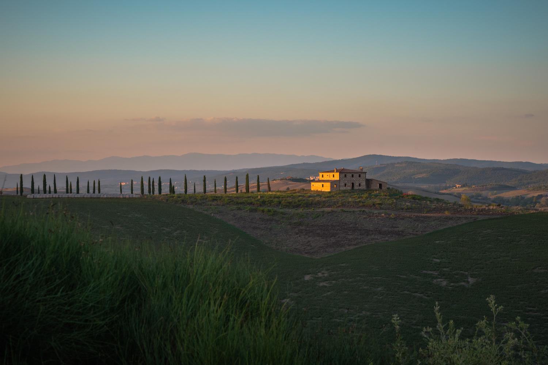 Tuscan sunset by Oksana Kemp