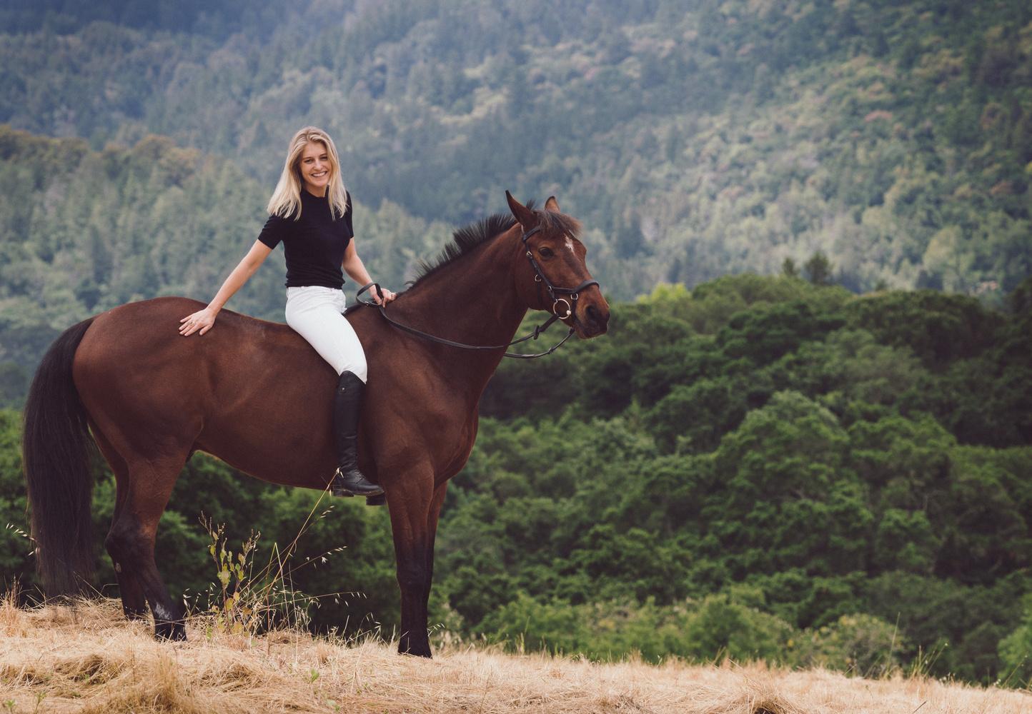 The Equestrian by Oksana Kemp