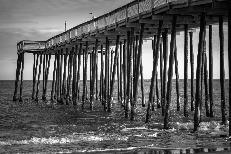 Ocean City Pier by Oksana Kemp