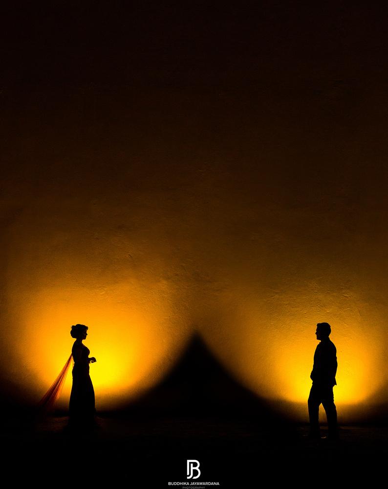Fine art Wedding Photograph by Buddhika Jayawardana