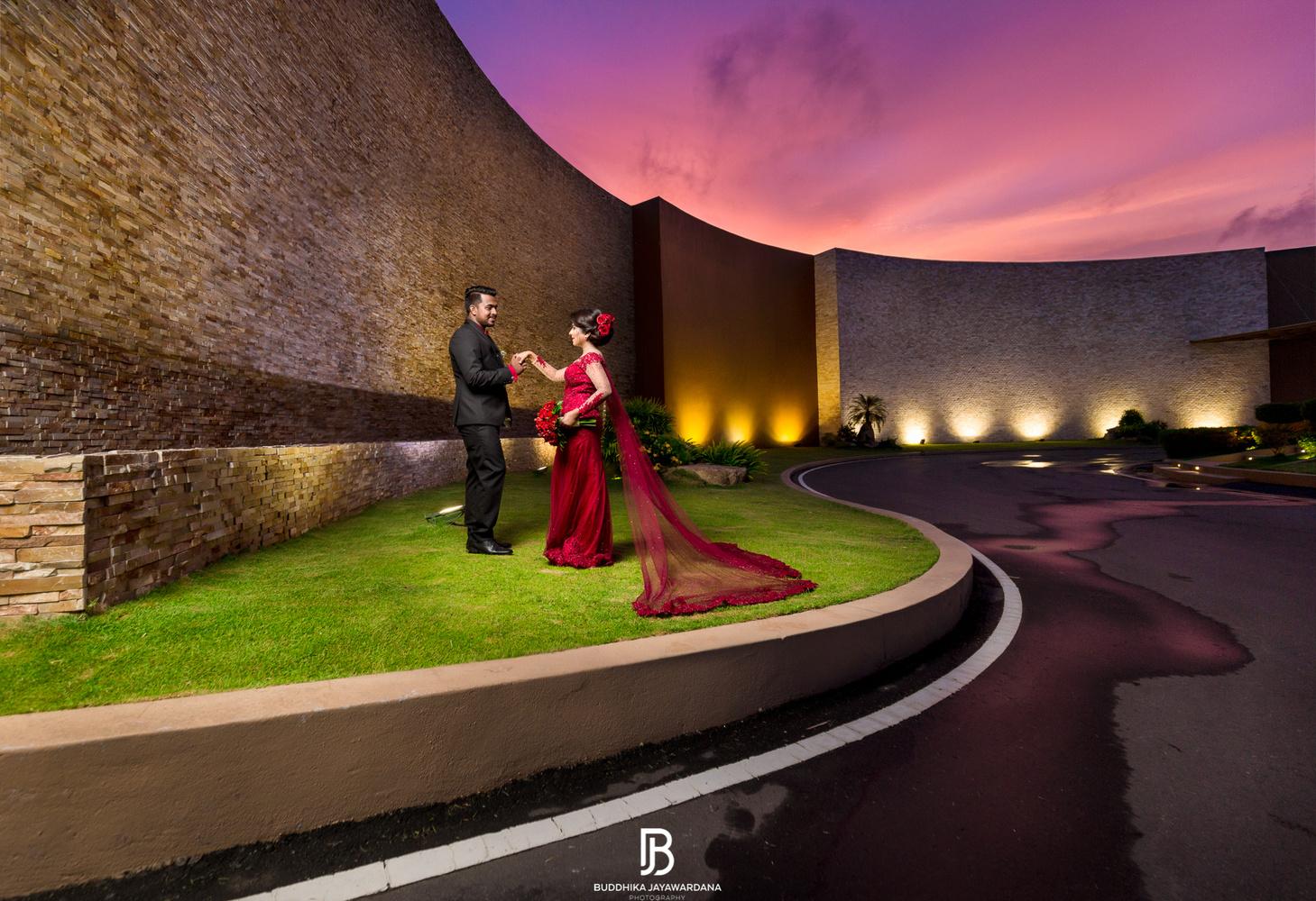 Beautiful Evening with couple  by Buddhika Jayawardana