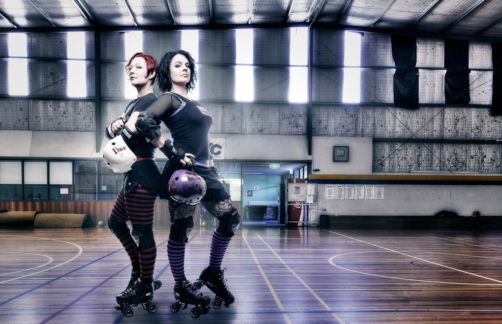 Derby Girls by Andrew Keane