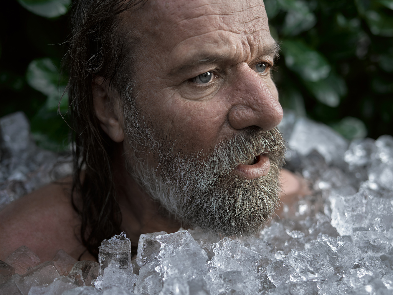 Wim Hof a.k.a. The Iceman by Jeroen Nieuwhuis