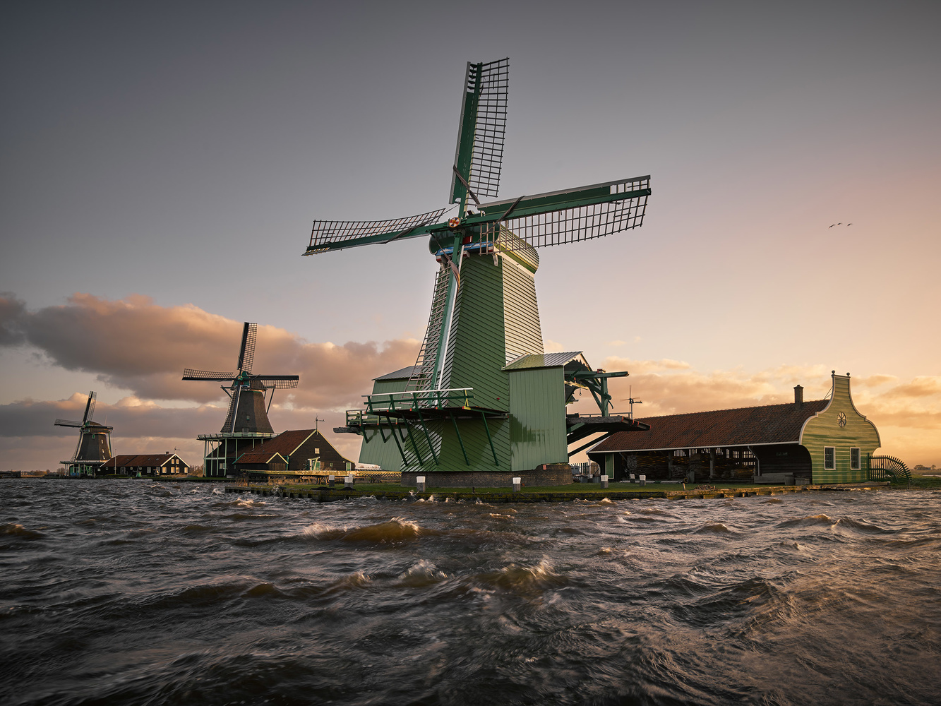 Knights of the windmill, a tribute to the miller's craft by Jeroen Nieuwhuis