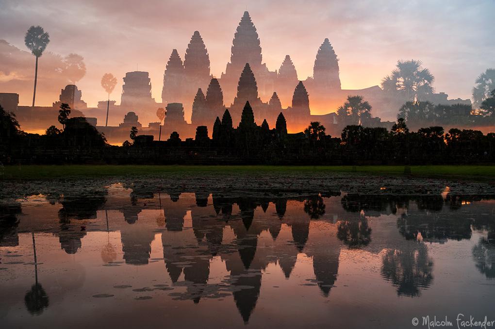 Angkor Wat Angkor Wat Angkor Wat by Malcolm Fackender