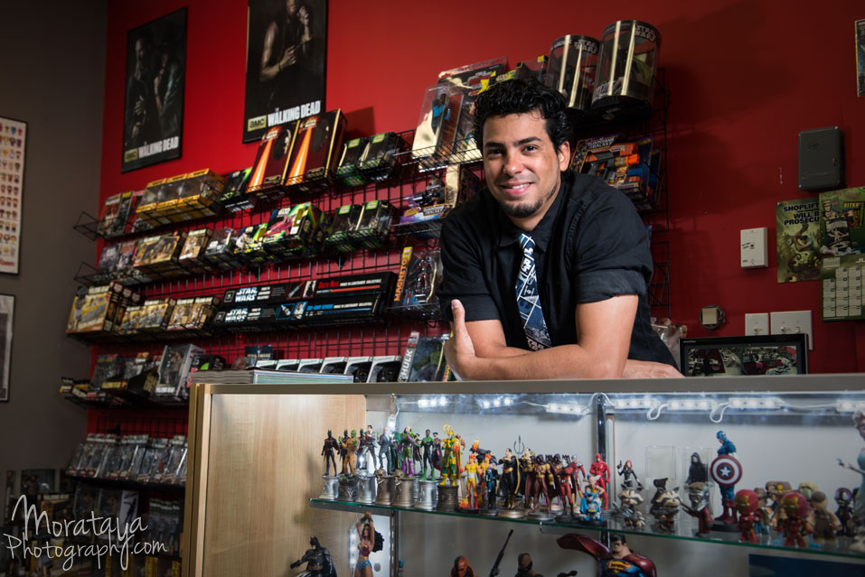Gama of World of Comics by Carlos Morataya