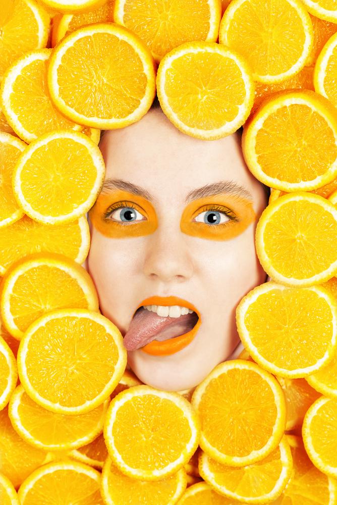 Orange Explosion by Simon Anderson