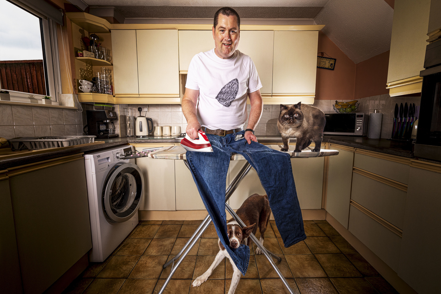 Ironing Day by Simon Anderson