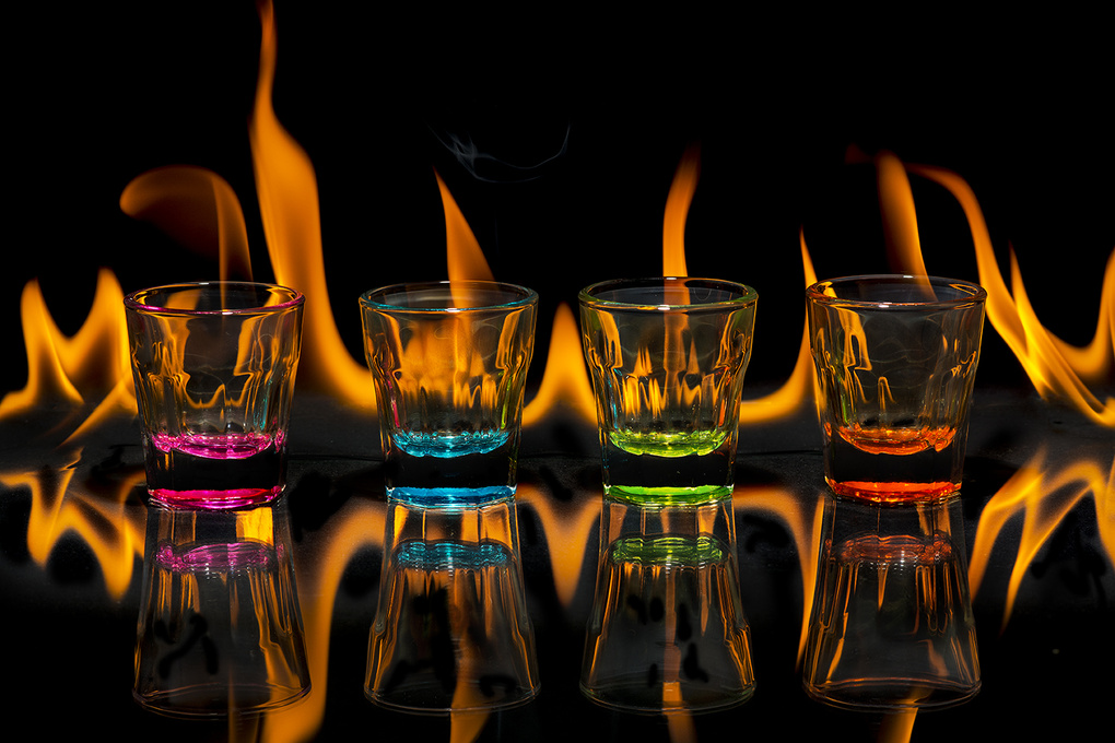 Hot Shots by Simon Anderson