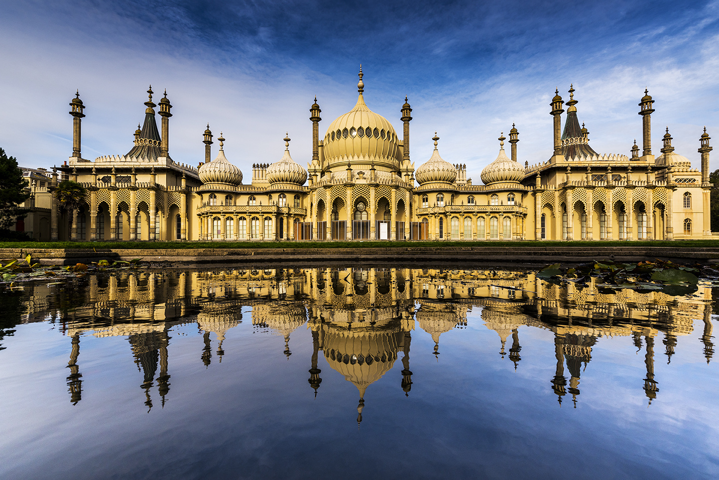 Palace in the Pond by Simon Anderson