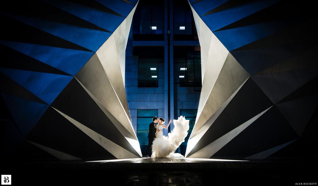 Wedding Wings by Alex Beckett