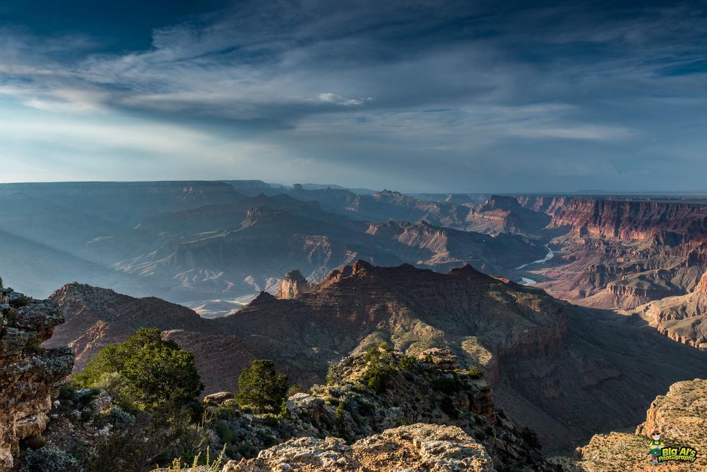 Stormy Grand Canyon by Allan Johnson
