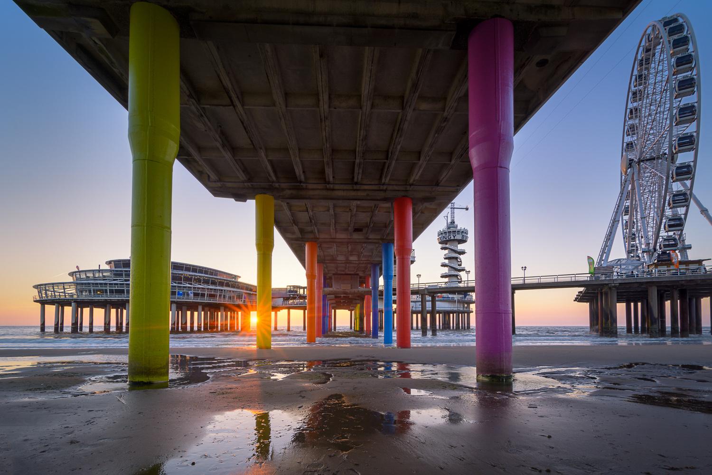 Scheveningen Sunset by Martijn van der Nat