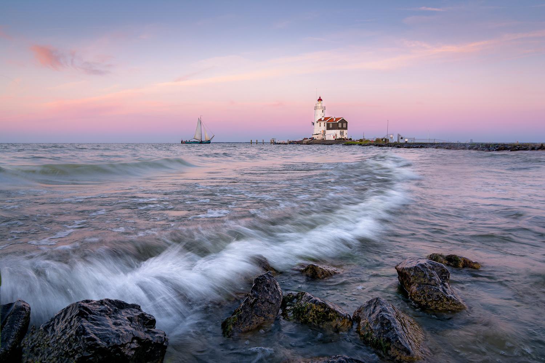 The Lighthouse by Martijn van der Nat