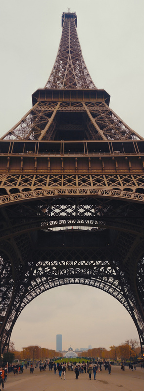 Eiffel Tower - V Panorama by Farbod Green