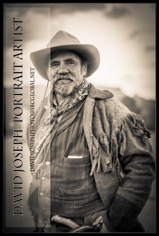 True Western Cowboy by David Joseph