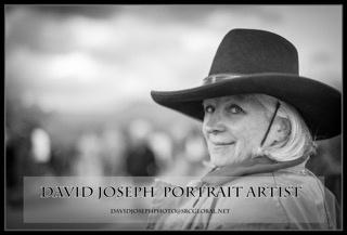 True Western Cowgirl by David Joseph