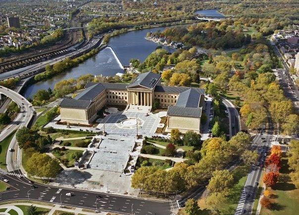 Philadelphia Art Museum by Andrew Simcox