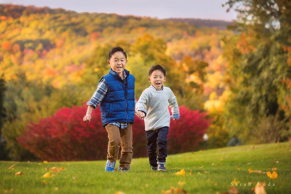 Brothers Running by Sarah Noda