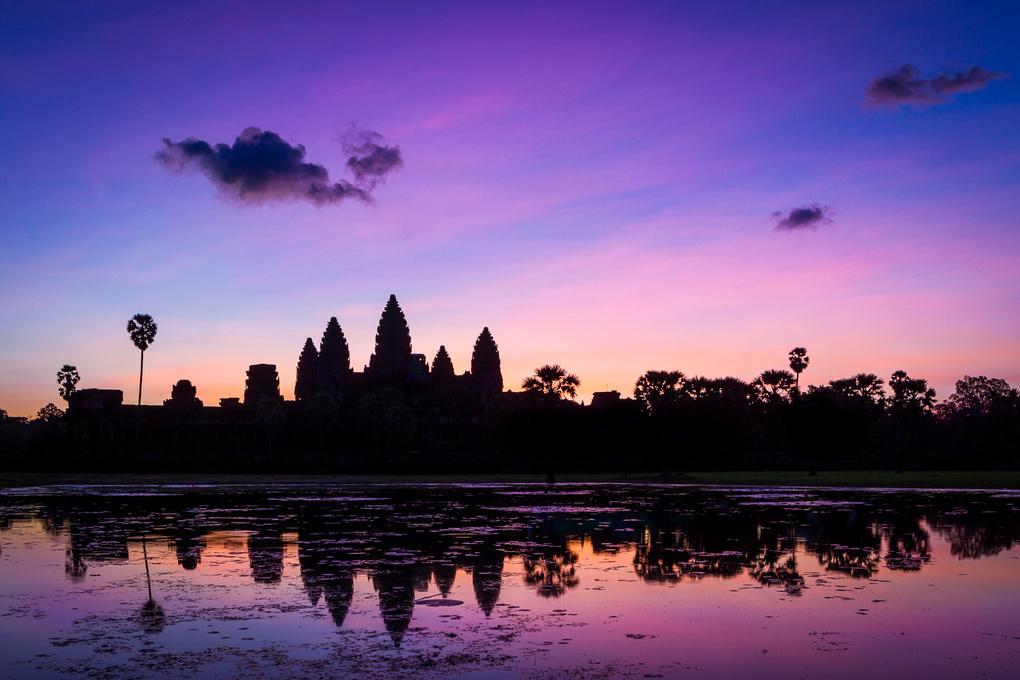 Angkor, Cambodia by Fabien Depasse