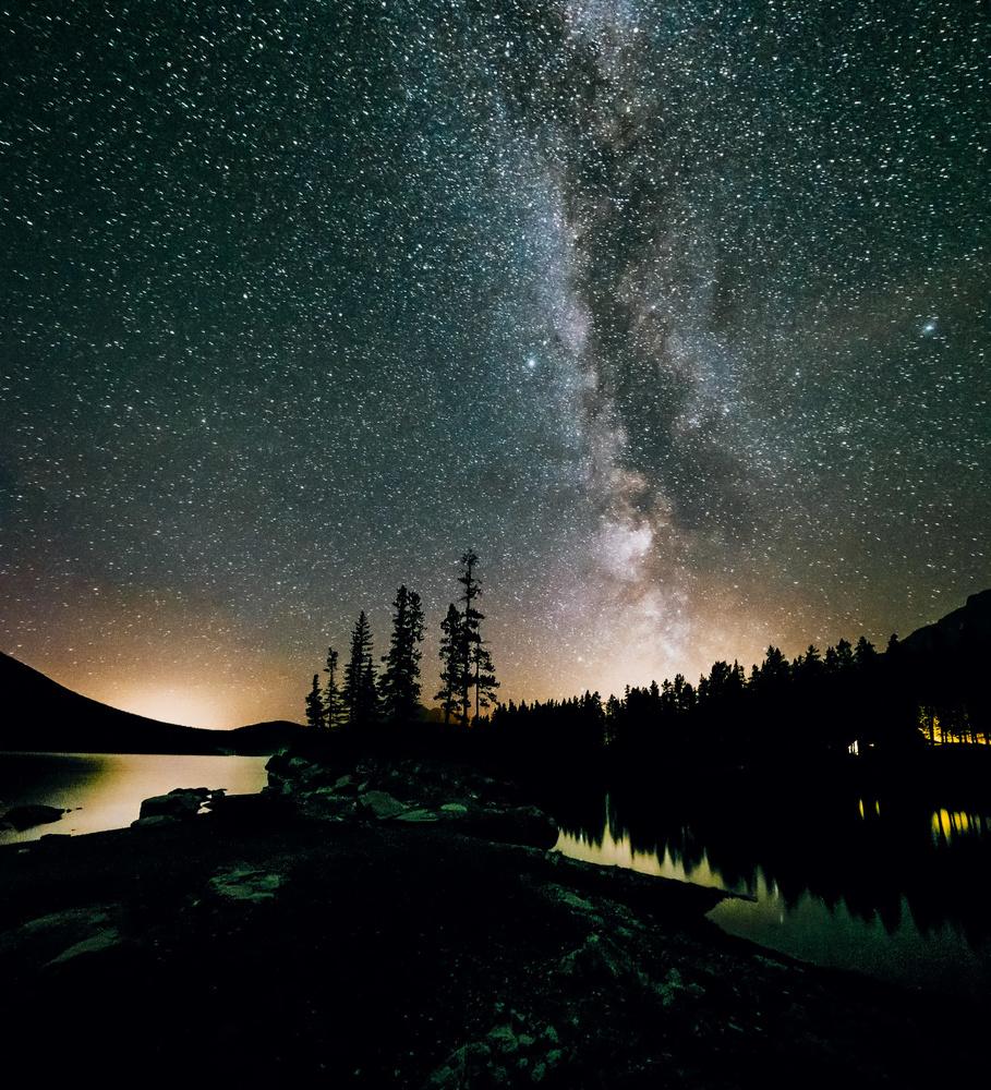 Milky Way in Banff NP by Glenn McManus