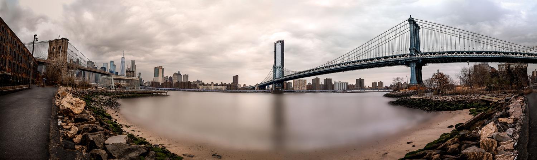 Down Under Manhattan Bridge Overpass by David O Sullivan