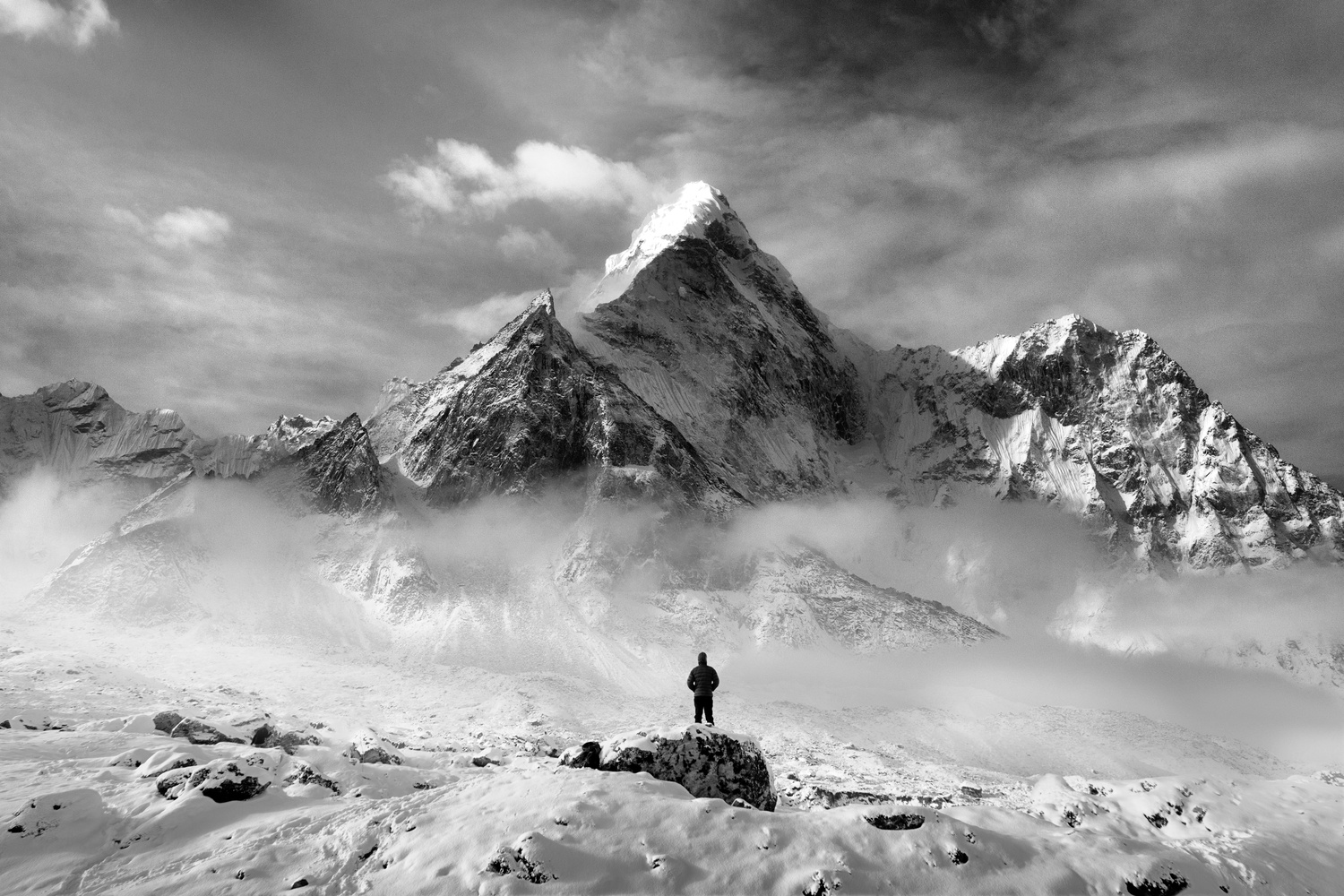 The Mighty Ama Dablam Himalayan Mountains, Nepal by David O Sullivan