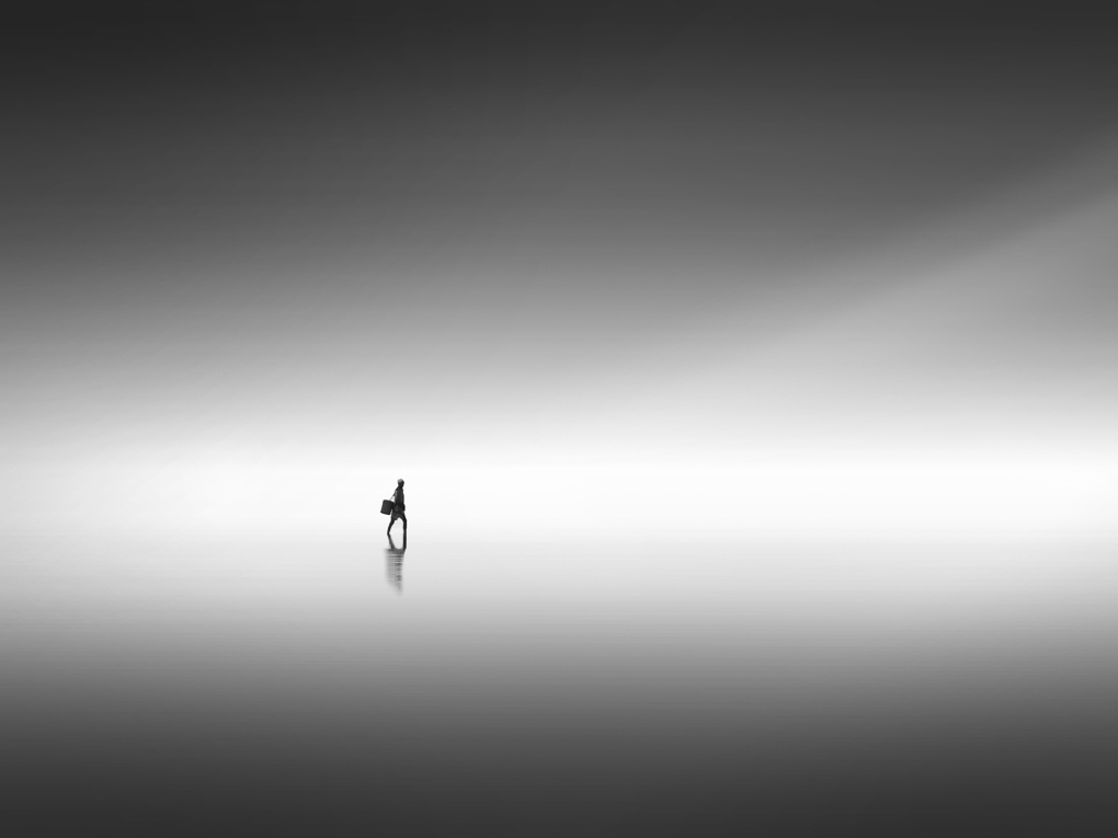 Lone Walker by David O Sullivan