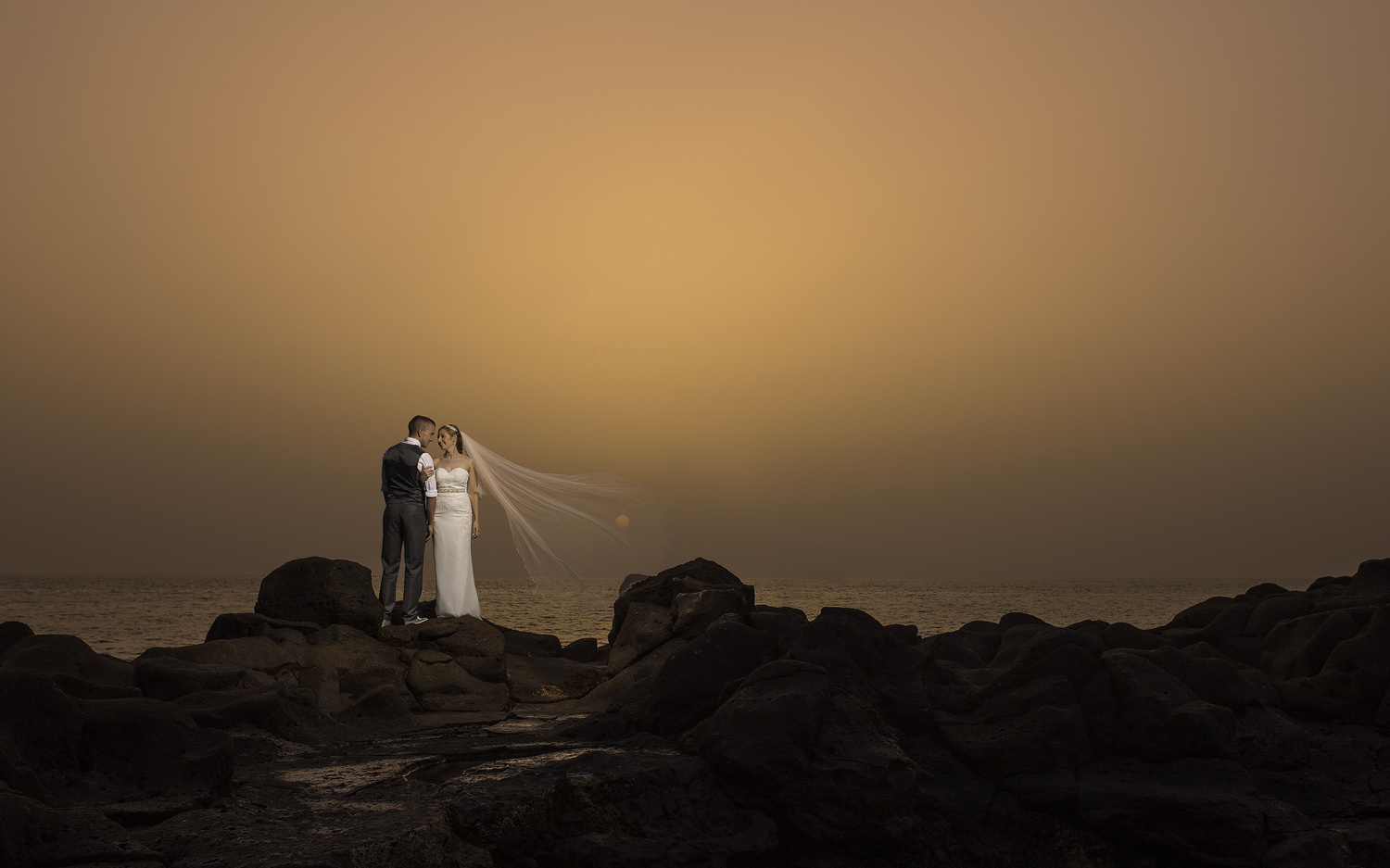 Wedding Sunset by David O Sullivan