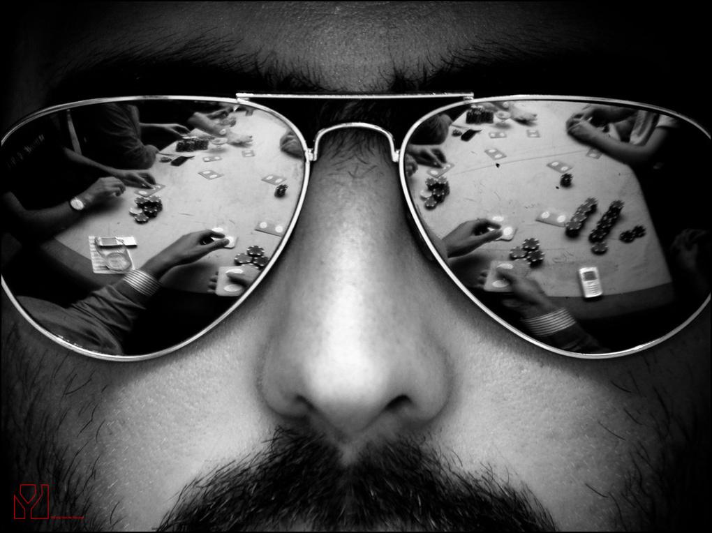 Glasses by Yannig Van de Wouwer