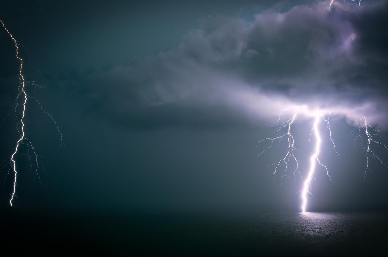 Lightning by Brett Blignaut