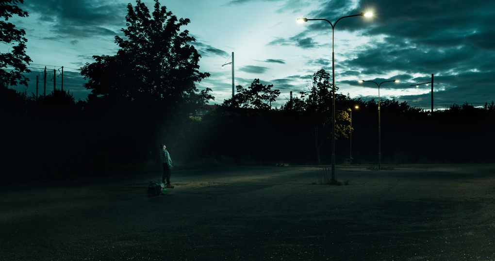 Left behind  by Kasper Christiansen