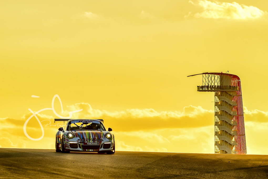 GT3 Cup Sunset  by Jason Bo