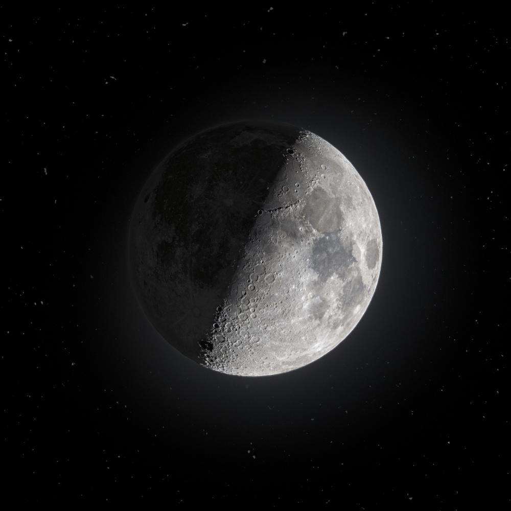 Moon, April 2020 by Edoardo Dusina