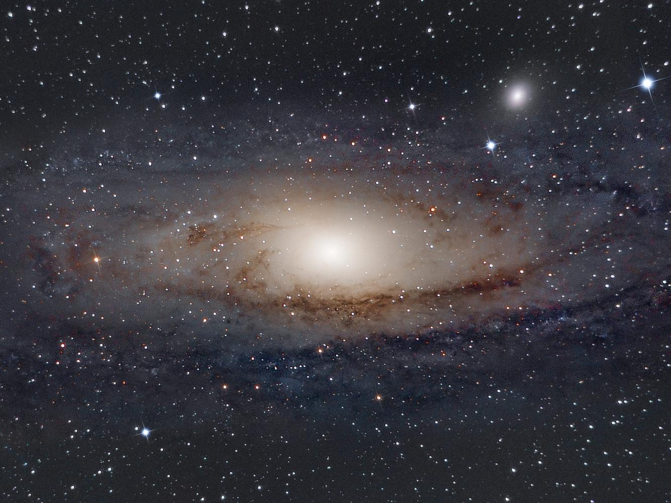 Andromeda Galaxy by Edoardo Dusina