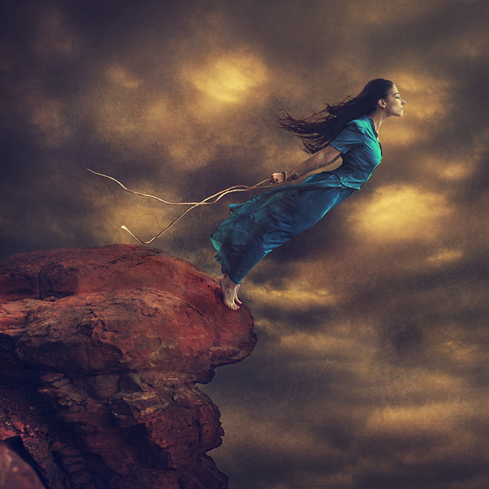 Let Loose the Curious Being by Brooke Shaden