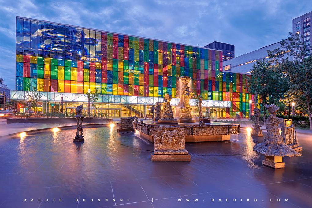 Palais des congrès de Montréal by Rachik BOUANANI