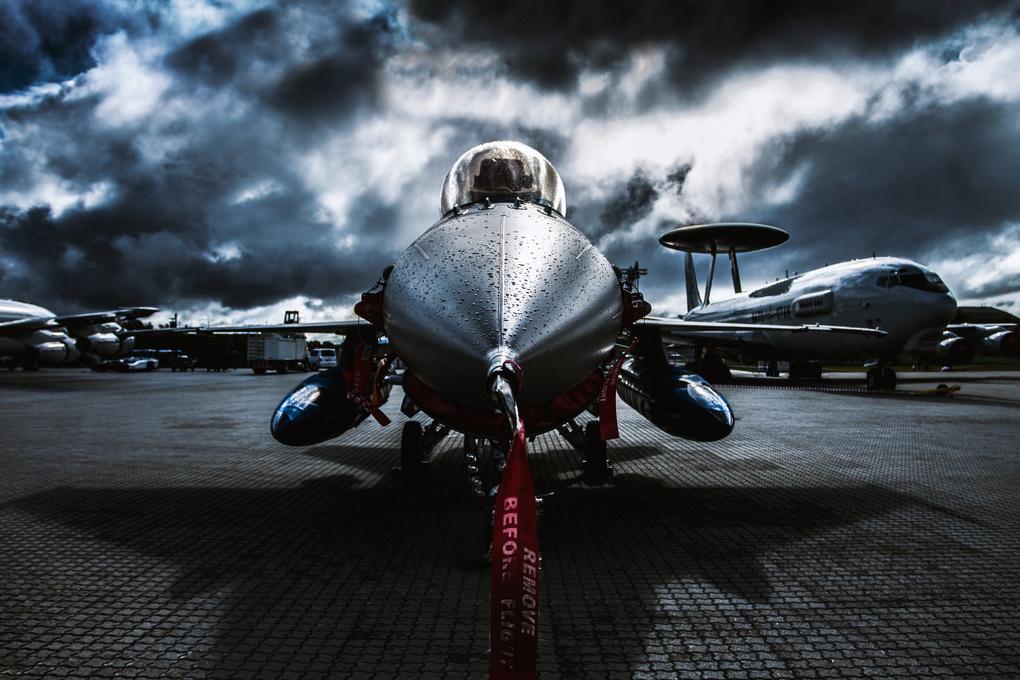 RNoAF F-16  by Aleksander Askim