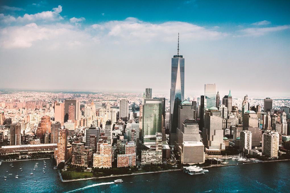 New York Skyline  by Aleksander Askim