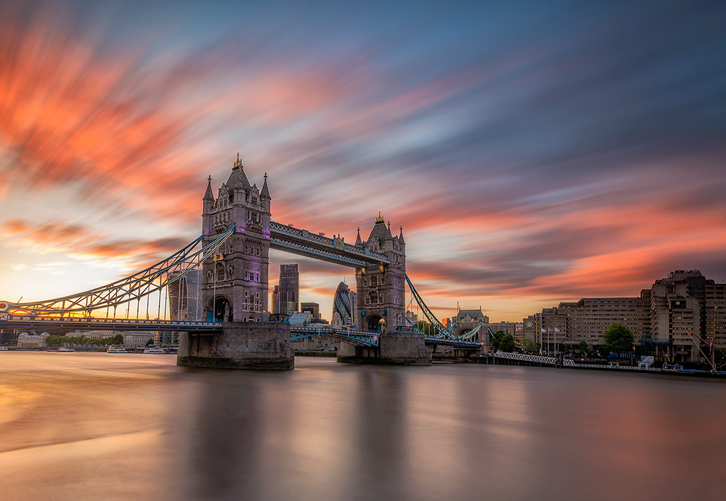 Tower Bridge Magic by Alessio Putzu