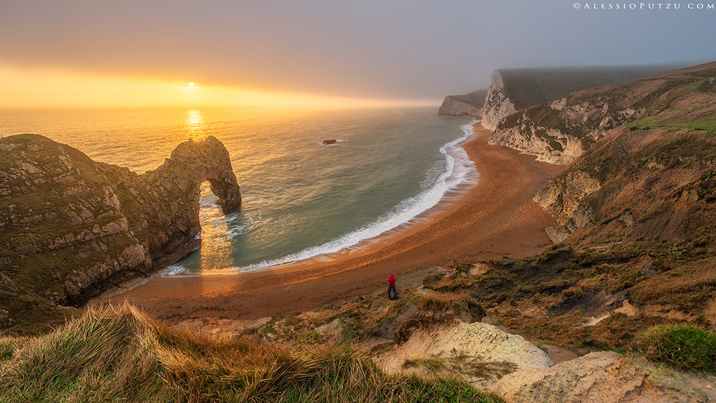Durdle Door Magic by Alessio Putzu