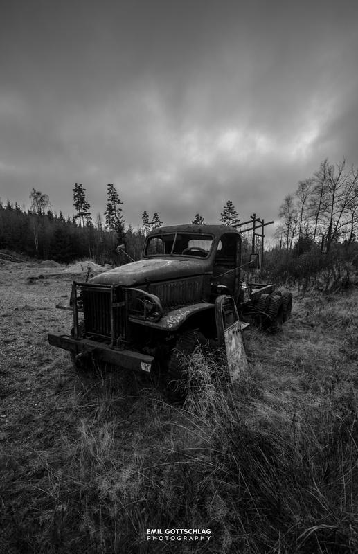 Old wreck by Emil Gottschlag