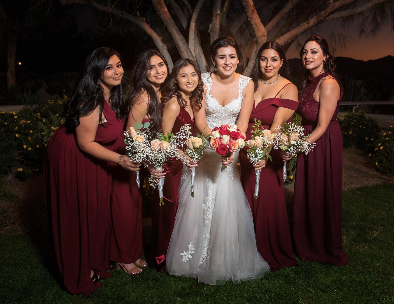 Bridesmaids by Scott Pam
