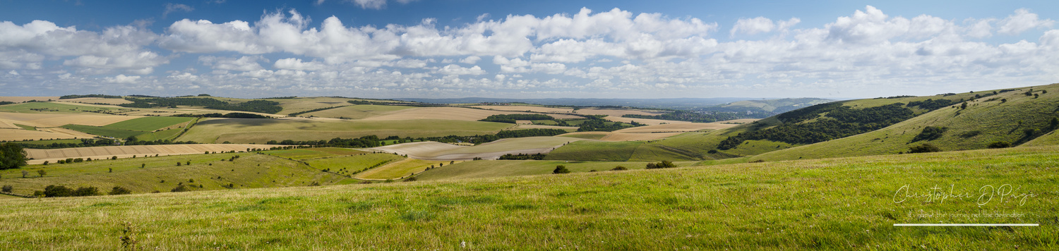The South Downs Way by Chris page