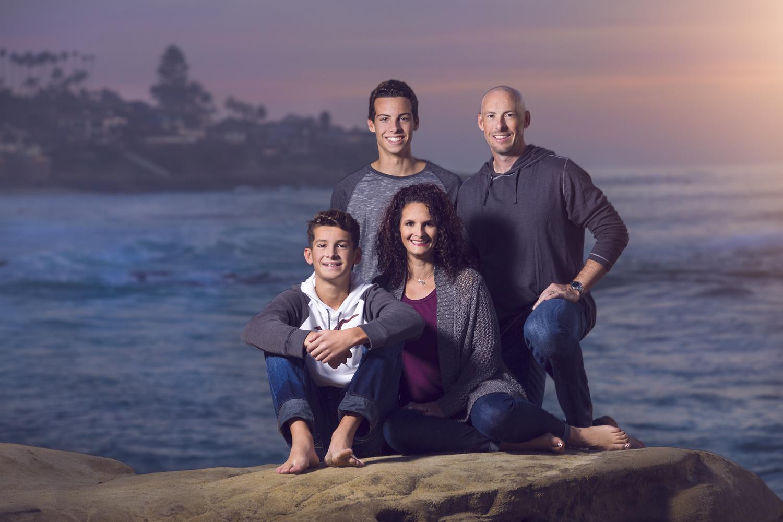 Windansea Family Portrait by Casey Wrightsman