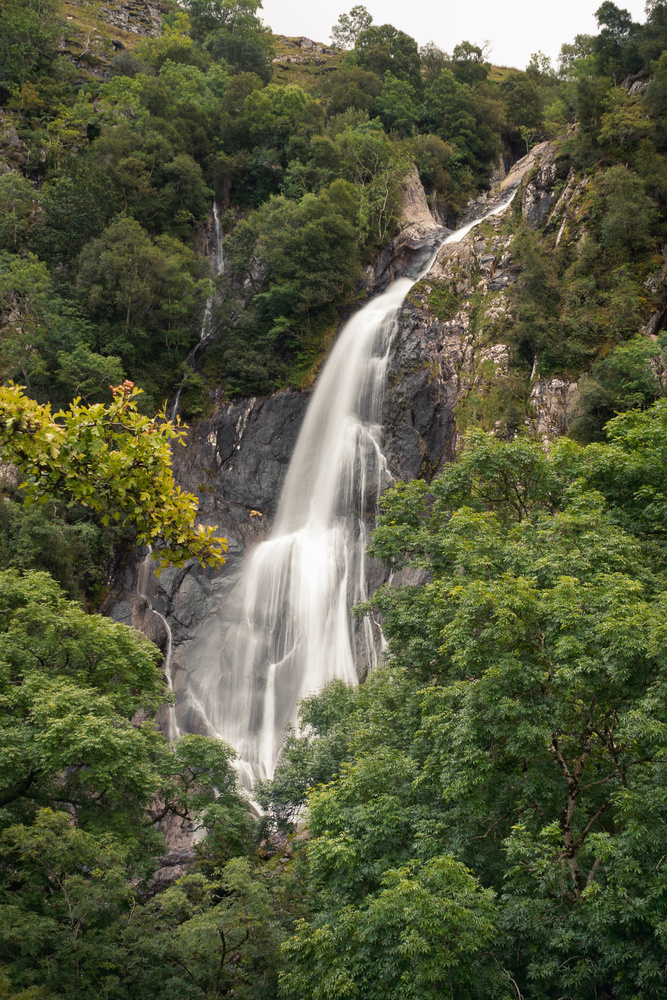 Aber Falls by Chris Wright
